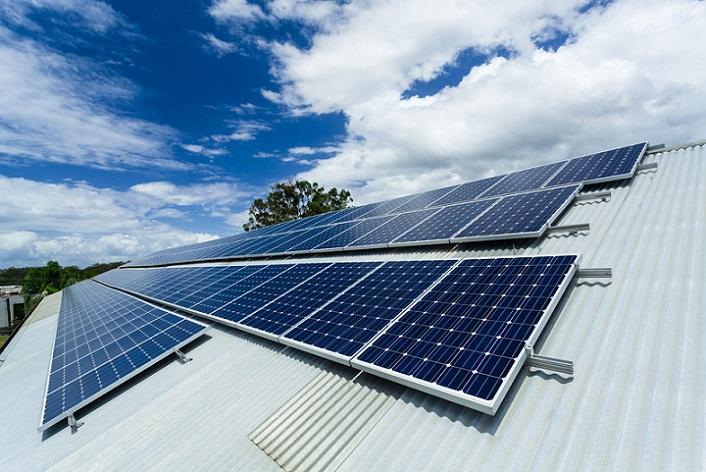 Asfalishi Fotovoltaikon stegis
